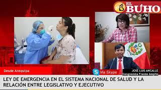 Ley que declara en emergencia el sistema nacional de Salud – Entrevistas