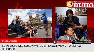 El impacto del coronavirus en la actividad turística del Cusco – entrevistas
