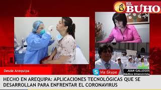 Hecho en Arequipa: tecnología médica para combatir el Covid-19 – entrevistas