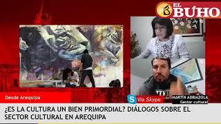 ¿Es la cultura un bien primordial? Diálogos sobre el sector cultural en Arequipa