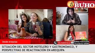 ¿Cuándo atenderán los hoteles y restaurantes en Arequipa? – Entrevistas