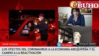 ¿Como afectó el Covid la economía en Arequipa? – entrevistas en cuarentena