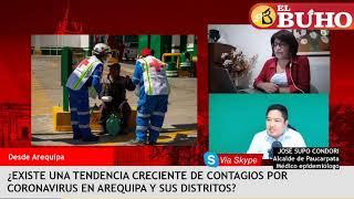 La evolución de contagios en Arequipa al día 68 de la emergencia nacional