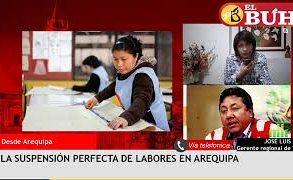 La «suspensión perfecta» de trabajadores en Arequipa – Entrevista al gerente regional de Trabajo