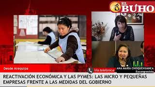 Ana María Choquehuanca sobre la situación de las Pymes y las medidas del gobierno – Entrevista