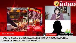 Riesgo de desabastecimiento por cierre de mercados/ El futuro del Perú post pandemia – Entrevistas