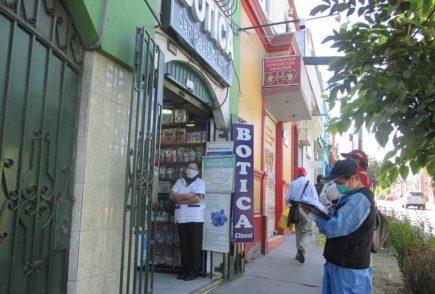 Arequipa: fiscalizan farmacias ante especulación de precios en medicinas