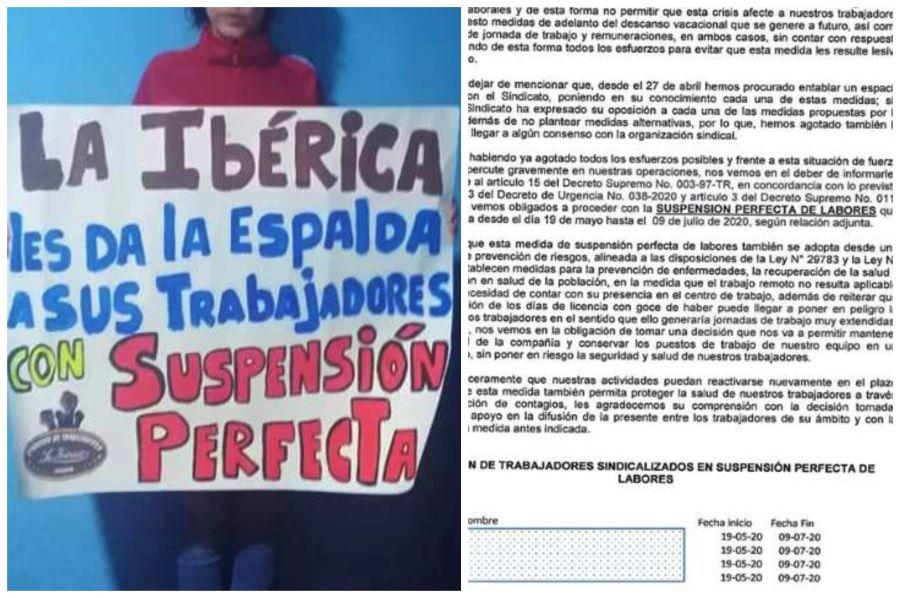 Arequipa, despiden trabajadores de la Iberica