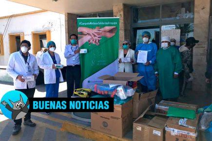 Centro de Aislamiento y Hospital Regional reciben  donaciones de EPP