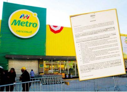 Arequipa: Metro confirma un caso positivo entre sus empleados de Hunter