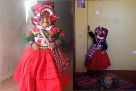 Puno: Niña de 6 años se hace viral por su poema contra coronavirus (VIDEO)