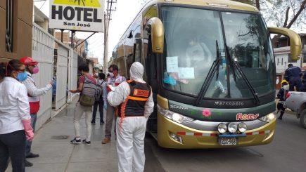 Arequipa: deficiencias en viajes de retorno ponen en riesgo control de Covid-19