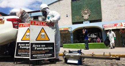 Arequipa pierde terreno en la guerra contra el coronavirus