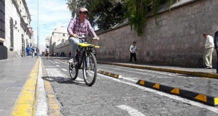 Evalúan habilitar 500 bicicletas para uso público en el Centro Histórico