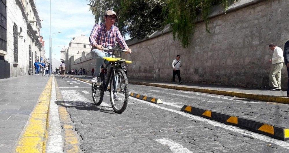 arequipa bicicletas ciclovías