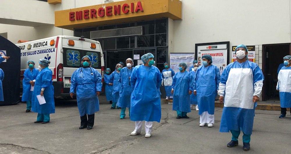 arequipa colegio médico colapso de hospitales