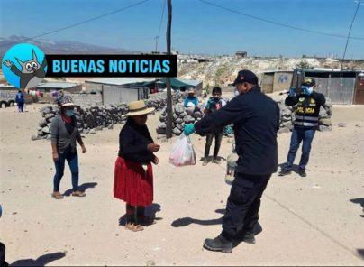 """Arequipa: PNP impulsa """"Challenge de la solidaridad"""" para ampliar ayuda"""