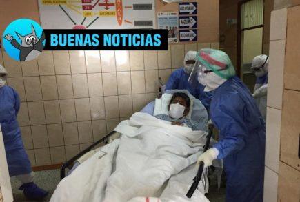 Arequipa: Policía supera coronavirus tras 22 días en Shock Trauma