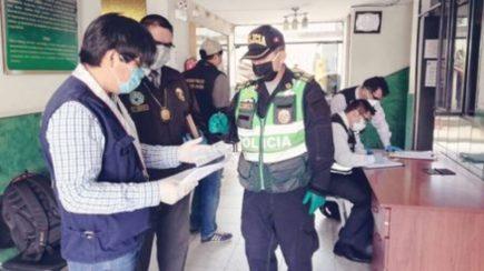 Arequipa: Investigan a 4 policías con coronavirus por incumplir cuarentena
