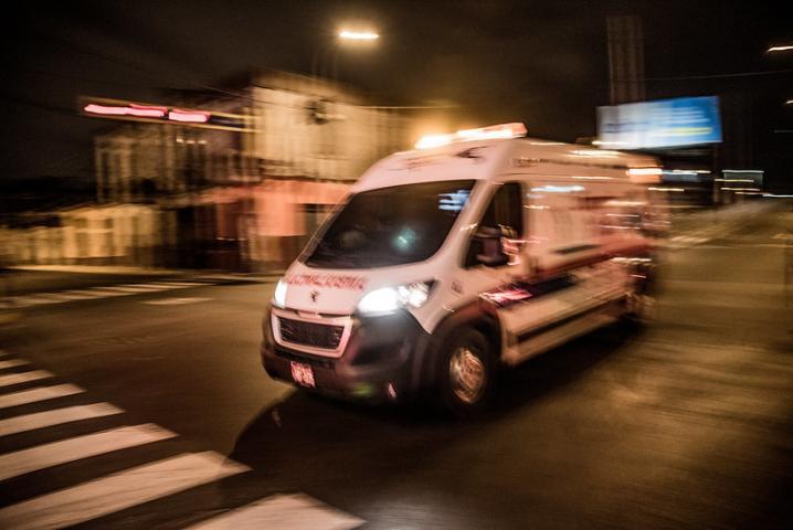 venezolano en ambulancia