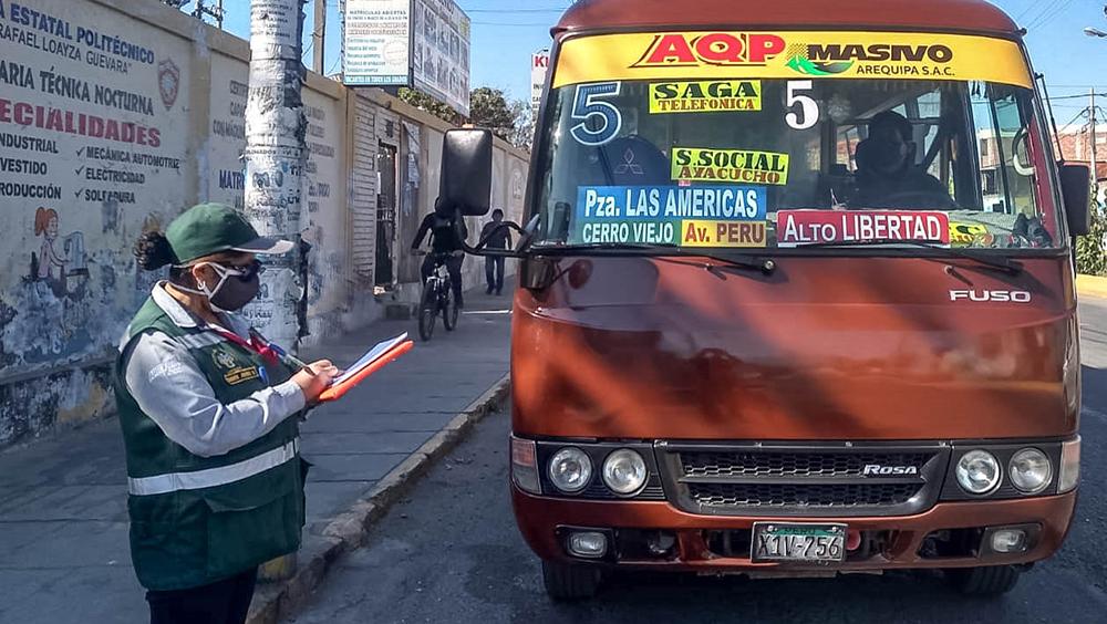 arequipa transportes