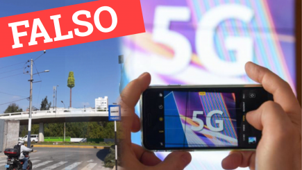 #NoticiasFalsas: no existen antenas de tecnología 5G en Arequipa