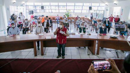 Alcaldes de Arequipa piden dinero al Gobierno Nacional para solventar planillas