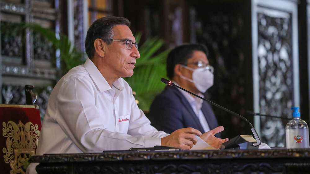 Martín vizcarra reactivación económica perú
