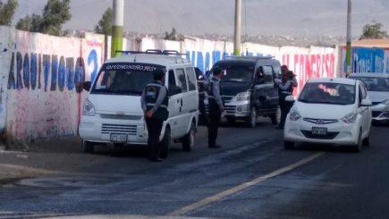 Arequipa: Crece informalidad tras suspensión de transporte público y taxis