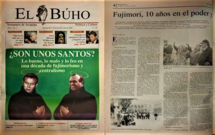#Hace20Años Arequipa: lo bueno, lo malo y lo feo en una década de fujimorismo y centralismo