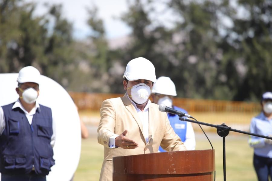 Arequipa: Juzgado sanciona a gobernador por no aplicar protocolo sanitario contra el Covid-19
