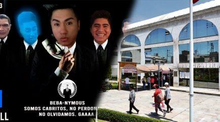 Colectivo «Beba Army» hackea página web de la Municipalidad Provincial