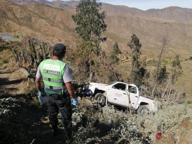 Personal de Salud Condesuyos se accidenta, dos fallecidos y director grave