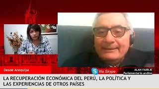 La reactivación económica del país y la política – Entrevista al economista Alan Fairlie