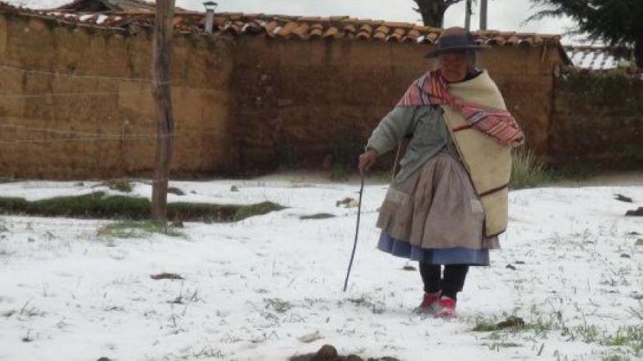 bajas temperaturas Arequipa Peru