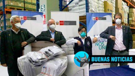 Alemania dona cien mil pruebas moleculares a Perú y envía virólogos expertos