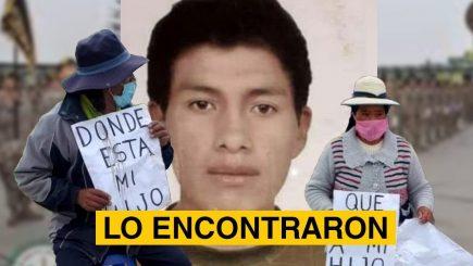 Wilber Carcahusto fue hallado con vida en Tacna