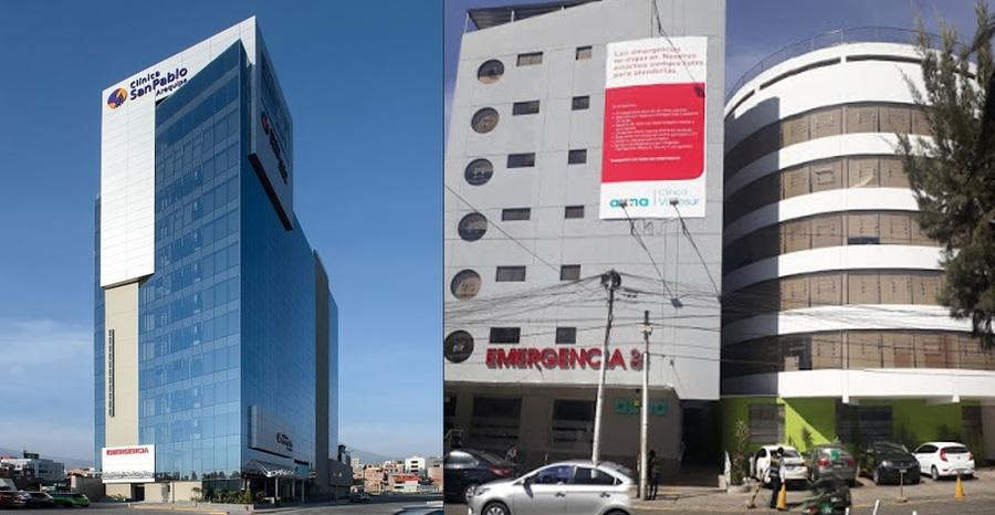 clínicas privadas en Arequipa