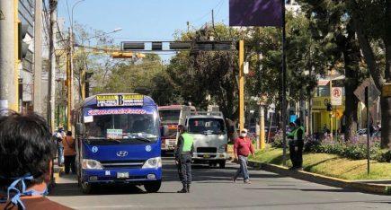 Arequipa: Comando Covid decide este martes si se reanuda transporte público