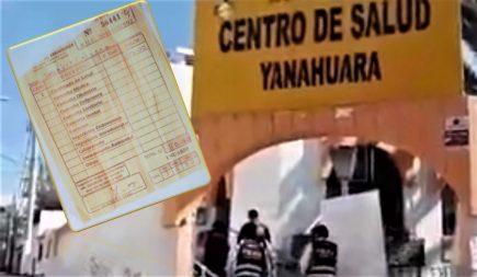 Fiscalía interviene por cobro de pruebas covid a Micro Red de Salud Yanahuara