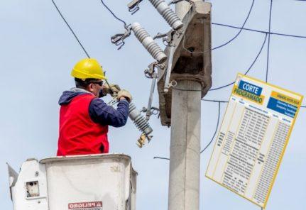 Arequipa: cortes de servicio eléctrico en 12 distritos del 2 al 5 de julio