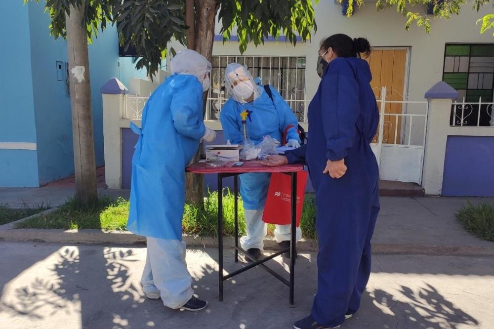 Arequipa: patrullas médicas identifican 77 personas con covid-19 en sus domicilios