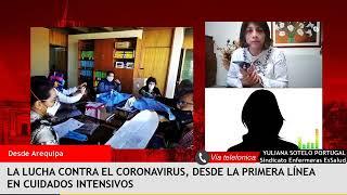Las valientes enfermeras que están en primera línea frente al Covid – Entrevista