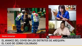 Los alcaldes y la suspensión del transporte y otras actividades – Entrevista a Benigno Cornejo