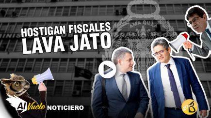 Lava Jato: Denuncian hostigamiento a fiscales|  Al vuelo, noticias desde Arequipa