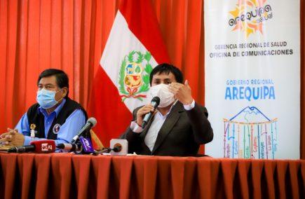 Gobernador de Arequipa sobre crisis en hospital Covid: «Que Dios nos apoye»