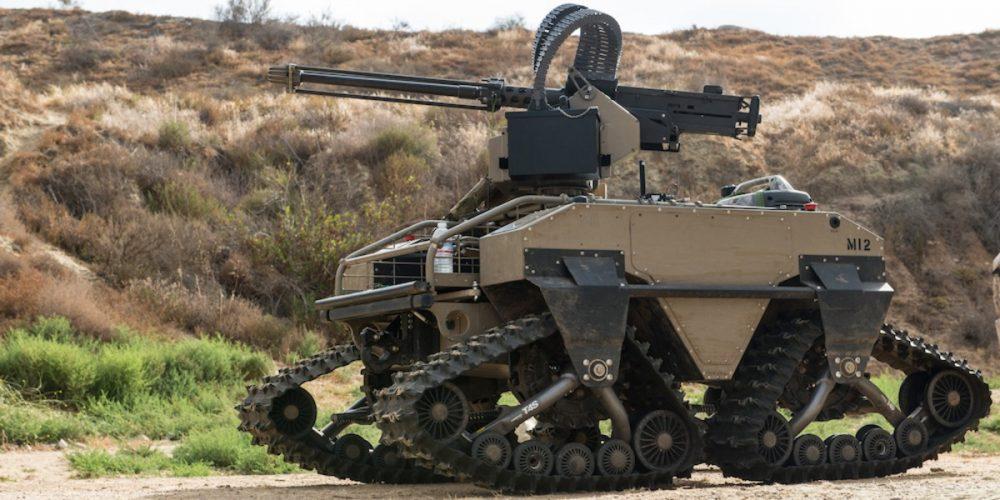 armamento con inteligencia artificial