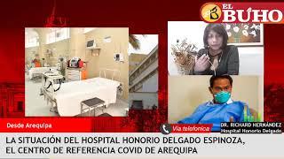 ¿Está colapsado el hospital Honorio Delgado de Arequipa? – Entrevistas