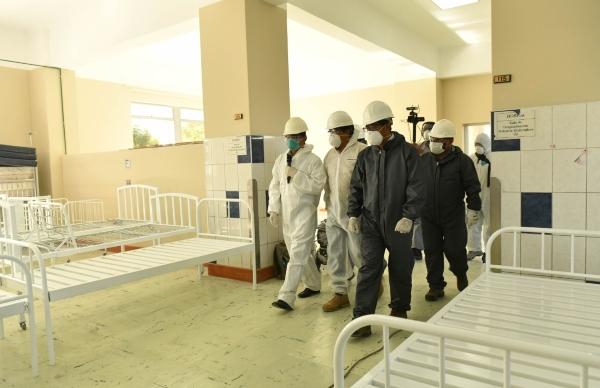 Arequipa: habilitan 40 camas para pacientes Covid-19 para descongestionar atenciones