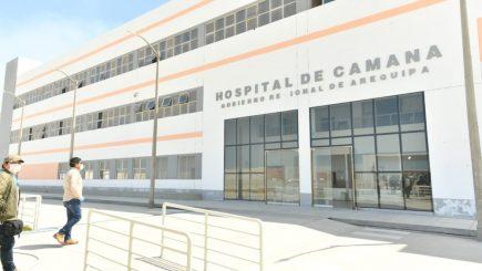 Gobierno Regional planea culminar tres hospitales en plena pandemia